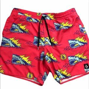 Mens Volcom Shark Shorts